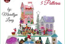 CHRISTMAS HOUSES - PRINTABLES -  DIY