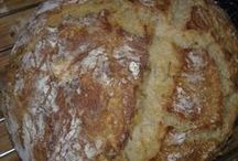 chleba, pečivo, slané pečení