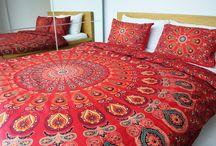 mandala bedspread