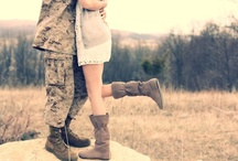 I love my soldier  / by Katherine Armstrong