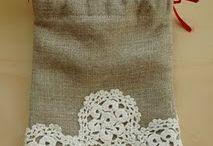 Saquinhos em crochet