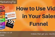 How to Use Video in Your Sales Funnel / Have you thought about using video at the different stages of your sales funnel? We've put together a collection of 6 Video Marketing Tips - find the full blog posts including videos here: http://gingervideo.co.uk/sales-funnel/how-to-use-video-in-your-sales-funnel-video-marketing-tips/