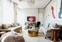 Living Spaces. / by Shannon Claire   Burlap and Lace Blog