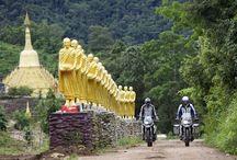 THAILAND - motos BMW / Tour GS THAILAND organisé par T3 ASIA sur 2 semaines sur le Nord Ouest Thailande de Bangkok a Chiang Rai.
