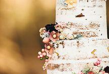 Áňa + Hrady svatební dort