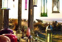 Gorgeous garden lanterns