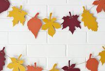 Herbst Deko basteln