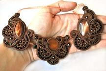 Handmade Jewelry by AnnKa / Soutache & beaded jewelry / by Jola Kamieńska