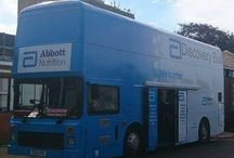 Abbott Nutrition Tour 2014 / Our hospitality bus being used by Abbott Nutrition on their East Coast tour around hospitals