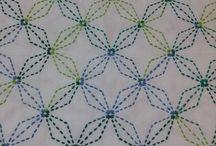 sashiko - vzory