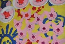 les 3 petits cochons en maternelle