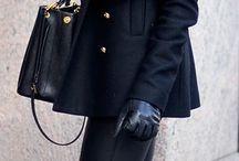téli outfit
