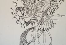 tatuaggi fenice phoenix tattoos