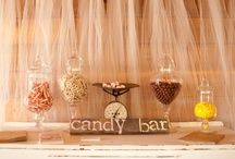 Desert Table inspiration / Sweet, sweet inspiration!  We can provide a desert table for you :) www.chicncheerful.co.uk