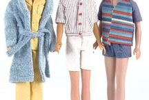 Ricky, Scott and Kevin by Mattel / Ricky (1965–1967) Skipper's first male friend. Scott (1979) Skipper's boyfriend. Kevin (1990–1995) Skipper's cool teen boyfriend.