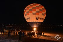 Flight with a hot air balloon / Russian's Fedor Konyukhov and Ivan Menyaylo planned to set new Russian and World records for the duration of flight with a hot air balloon. Red Fox company is an official equipment sponsor of this project.