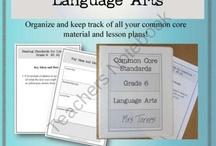 sixth grade language arts / by Briley Collins