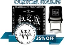 Stamping - Stationary - and Creative Crafting / Stationery products, deals, and unique ideas offered by Organize-It. From custom rubber stamps to DIY stationery, we will help keep the art of handwritten letters alive and special.