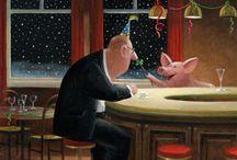 Gerhard Glücks Art makes me smile