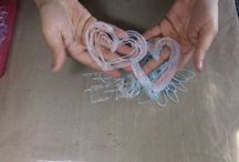 ručné práce - plast