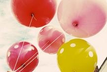 Baloons / #baloons #color #sky #filter #vintage #pretty