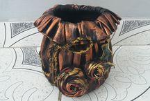Vase hand made