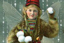 nostalgiske bilder jul