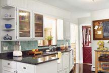 kitchens / by Minon Frye