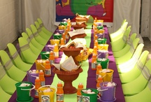 kiddies themed party's