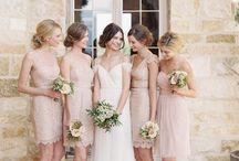Bridesmaids beige