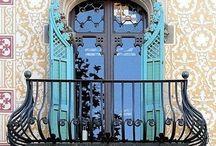 Hermosas puertas♡