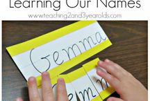 Let's Learn - Our Name / by Mandy Young