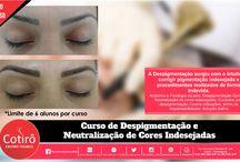 Micropigmentação, Micropuntura, Microblading e Despigmentação