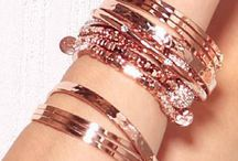Beauty of rose gold