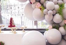 Globos para decorar boda
