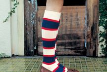 Women's Sockspiration / We love socks.  Here are some of the women's socks we've discovered that inspire and thrill us.