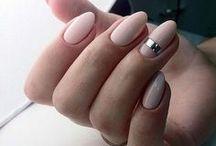 paznokcie ślub