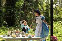 Alice in wonderland / Alice in wonderland photoshoot