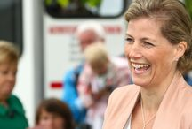 Royal Visit / HRH the Countess of Wessex visited the Lincolnshire Show on the 20th June 2013.