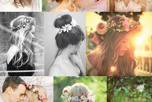 Projekt / Studiofotografering av modell med makeup artist och florist