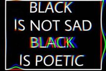 color black aesthetic
