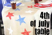 Patriotic Decorating Ideas / Decorating ideas for Independence Day and the Fourth of July