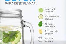 Aguas desintoxicantes