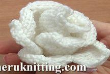Youtube Knitted Flower / Knitting