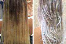Ash hair color