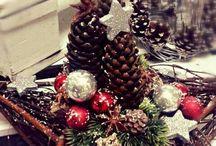 estrela natal decorada