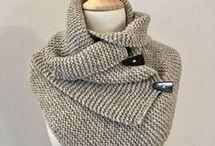 sjaal breien volwassen
