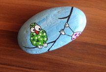 Kameny - malování