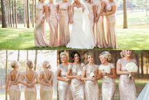 Wedding - Champagne, Gold, Silver & Cream / Champagne,  Gold, Silver & Cream Wedding Ideas