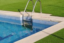 Artificial Grass for Swimming Pool Surrounds